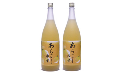 あらごし柚子菊水酒造1800mL2本セット
