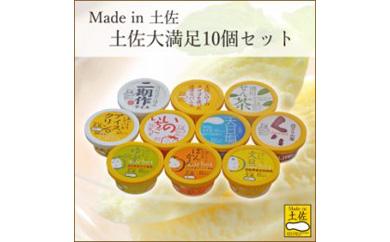 Madeinアイス&シャーベット土佐大満足10個セット/高知アイス