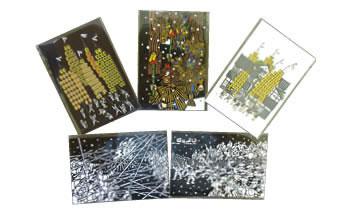 秋田の伝統行事を絵はがきにしました!「絵はがき5枚セット」
