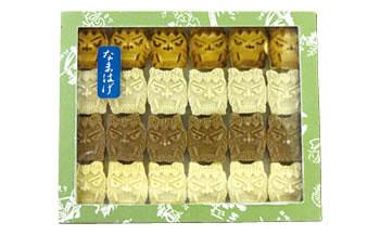 商品名秋田の伝統菓子!「なまはげもろこし24枚入り」