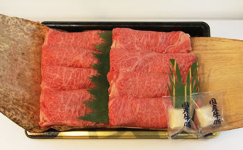 【自宅用】◆常陸牛すき焼き用360g