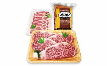牛肉・豚肉などの詰め合わせ