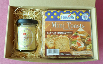 塩麹フロマージュ・ミニトーストセット
