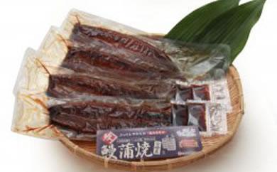 三年熟成醤油使用の炭火焼鰻蒲焼4尾[約160g×4](たれ付き)
