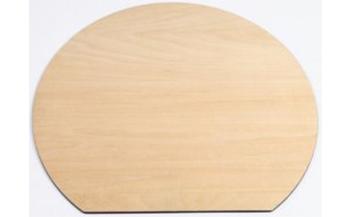 木製ランチョンマット白木