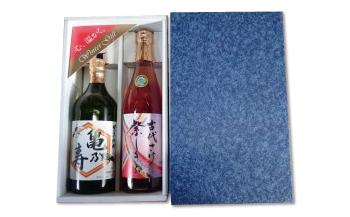 鶴亀セット(清酒・米焼酎)②