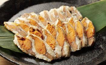 ★一時受付中止★近江米でじっくり熟成発酵させた国産の天然子持ち鮒寿司スライス特大(箱入り)