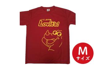 いとしまPR隊 オリジナルTシャツ 赤色・Mサイズ