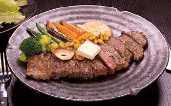 【月間先着10個まで】くんねっぷ産 牛ロース ステーキ用