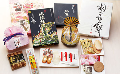 【受付一時中止】加賀乃菓満足セット