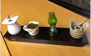 山中温泉花紫オリジナル山中漆器杯台