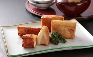海老すり身を100%使用した長崎伝承ハトシ海老10と海老チーズ5