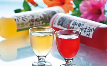 紅芋梅酒&シークヮーサー梅酒