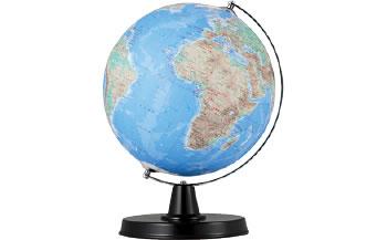 地球儀(地勢図)