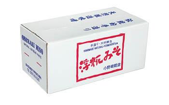 つぶみそ・こしみそセット(各1.5kg樽、箱入り)