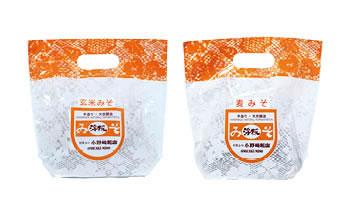 麦みそ・玄米みそ 味噌セット(各1kg)