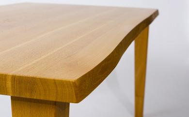 今から作る自由なサイズのナラ材のダイニングテーブル(幅141~160まで)