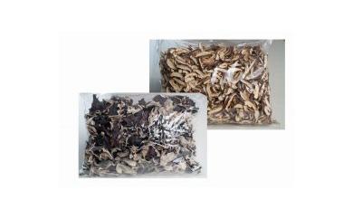 【お徳用】乾燥椎茸スライス&乾燥キクラゲホール 各500g