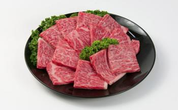 神戸菊水・黒毛和牛ロース焼肉用【800g】