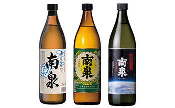「南泉」白麹・黒麹・宇宙麹900ml3本飲み比べセット