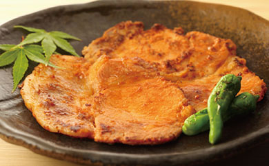 四元豚味噌漬け、豚バラスライスセット