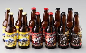 サムライサーファー12本セット【3種】(サムライサーファー レッド・ブラック・静岡の手造りビール)