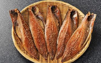 ヤマカ水産自慢の逸品。沼津ブランド認定、正子さんのさば醤油干し、8枚入り