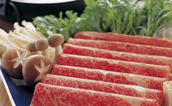 上州和牛A5リブロースすき焼き1kg